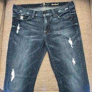 EUC 7 for all Mankind Bootcut Jeans Size 30